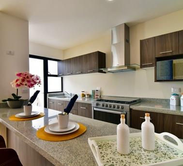 Foto de cocina de casa modelo Galia en Lenna Residencial, en Zákia, Querétaro.
