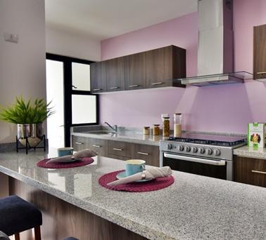 Foto de cocina de casa modelo Lenor II en Lenna Residencial, en Zákia, Querétaro