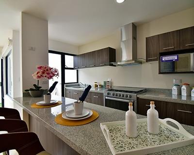 Cocina de casa modelo Galia.